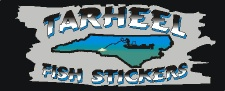 Tarheel Fish Stickers